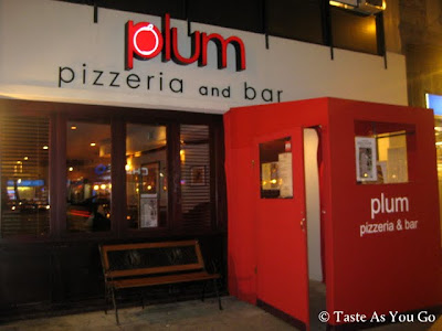 Plum Pizzeria and Bar Facade in New York, NY - Photo by Taste As You Go