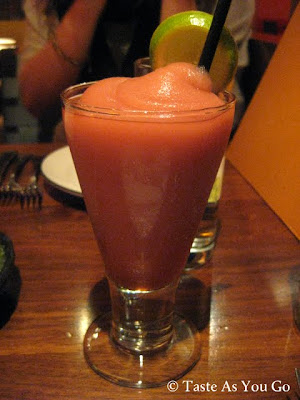 Frozen Prickly Pear Margarita at Dos Caminos in New York, NY - Photo by Taste As You Go