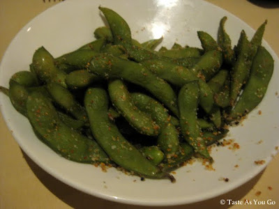 Edamame at Roy's Orlando in Orlando, FL - Photo by Taste As You Go