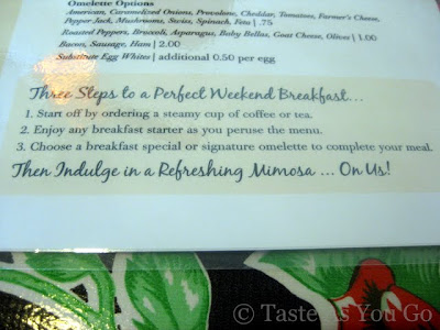 Instructions for the Perfect Weekend Breakfast at Jumbars in Bethlehem, PA - Photo by Taste As You Go