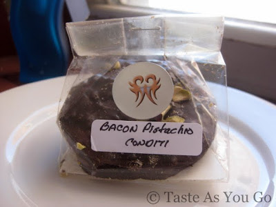 Bacon Pistachio Conditi from The Madison Chocolatiers West - Photo by Taste As You Go