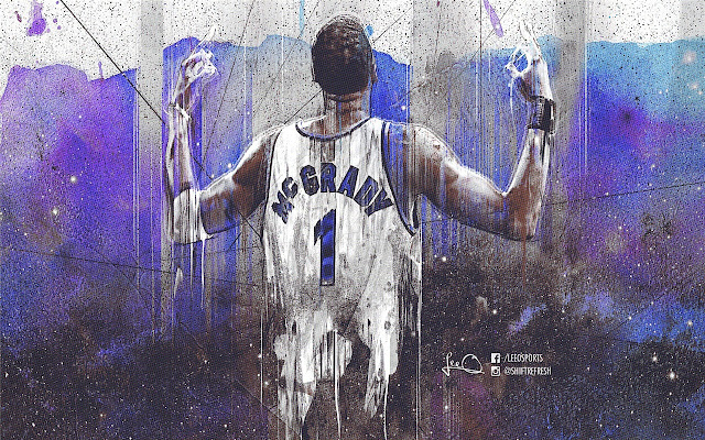 Tracy McGrady Themes & New Tab