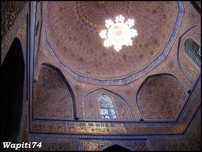 Sur les Routes de la Soie : Ouzbekistan et Tadjikistan - Page 3 38-Samarcande-GourEmir