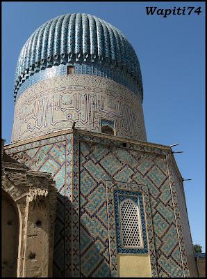 Sur les Routes de la Soie : Ouzbekistan et Tadjikistan - Page 3 41-Samarcande-GourEmir