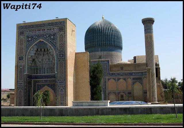Sur les Routes de la Soie : Ouzbekistan et Tadjikistan - Page 3 32-Samarcande-GourEmir