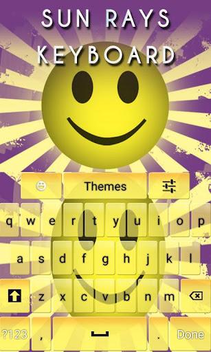 Sun Rays Keyboard
