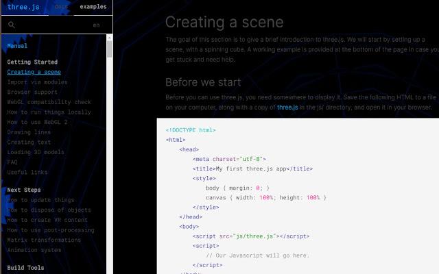 Three.js   Midnight Theme   By Xedois.org