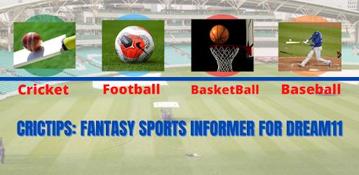 CricTips - Dream11 Fantasy Cricket & Football Team APK 0