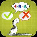 Fast Kids Math Quiz Challenge icon