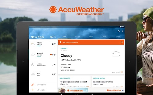 AccuWeather- screenshot thumbnail
