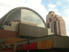 Photo: Philadelphia's famed Kimmel Center orchestra hall.