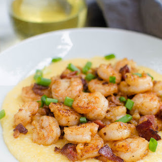 Cajun Shrimp and Grits.