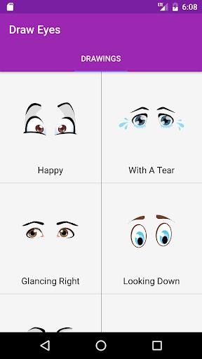 玩免費遊戲APP|下載Draw Eyes Step By Step app不用錢|硬是要APP