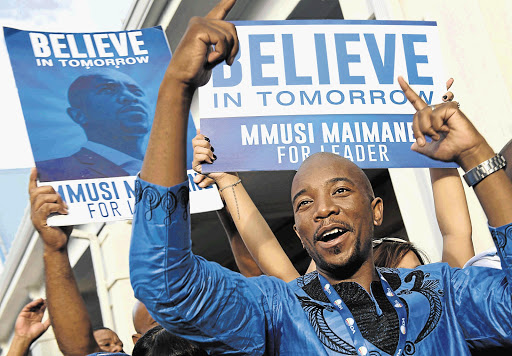 Democratic Alliance Mmusi Maimane, file photo.