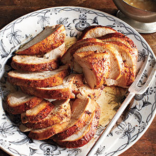 Spicy Maple Turkey Breast with Quick Pan Sauce