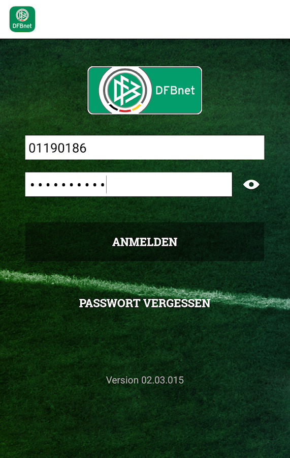 DFBnet- screenshot