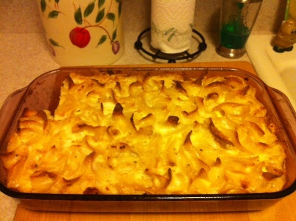 Savory Noodle Kugel Recipe