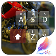 Moto racer for Hitap Keyboard 6.3 Icon