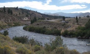 Photo: Truckee River at put-in.