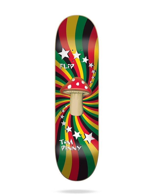 FLIP - TOM PENNY RASTA SHROOM PURPLE 8.25