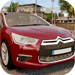 Car Racing Citroen Game Icon