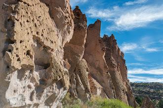 Photo: Volcanic cliffs