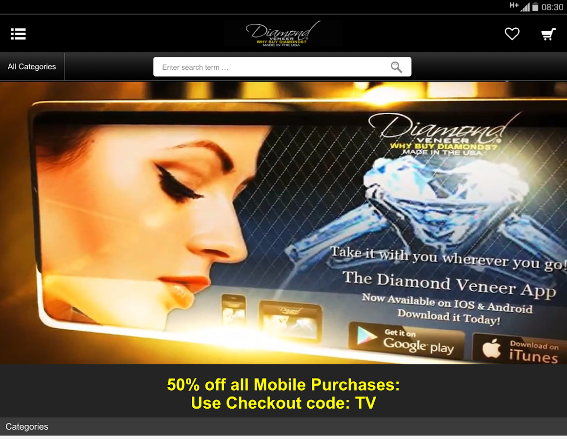 Diamond Veneer- screenshot