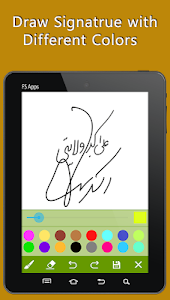 Signature Maker Real screenshot 13