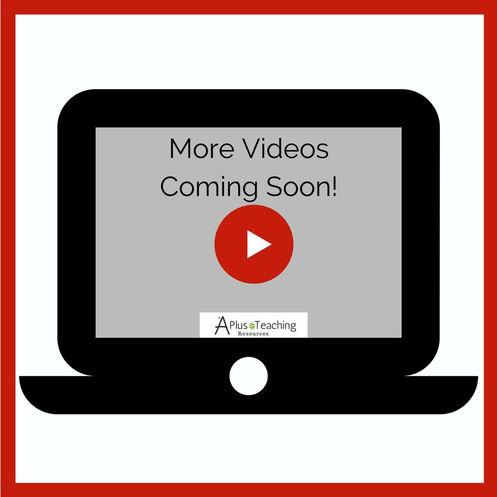 more videos soon