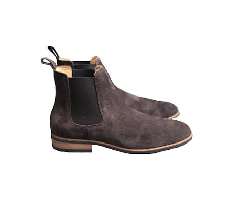 Amazona Moema Chelsea Boots Coffe brown Suede