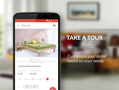 Rentomojo Furniture Rental App Android Apps On Google Play