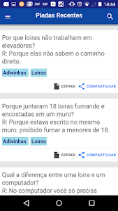 Jokes in Portugues screenshot 2