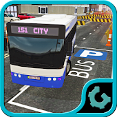 City Bus Parking 3D 2015
