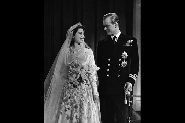 Ratu Elizabeth II dan Philip, Duke of Edinburgh, 20 November 1947