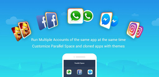 Приложения Parallel Space - Multiple accounts & Two face (apk) бесплатно скачать для Android / ПК screenshot