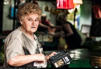 Photo: market woman
