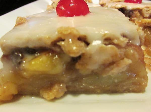 Glazed Country Apple Pie Squares Recipe