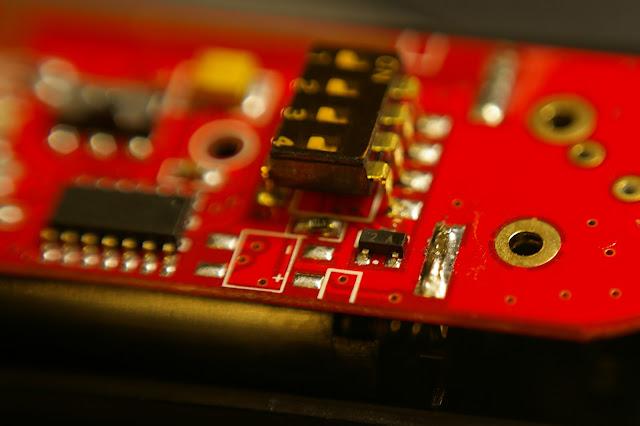 無線閃燈(快門)觸發器修理