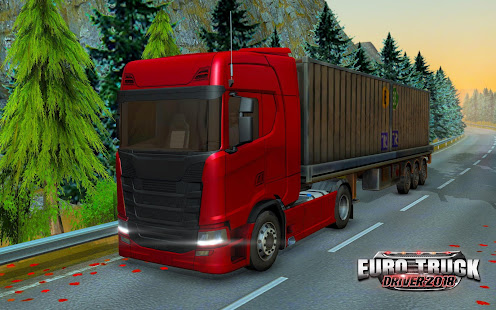 Euro Truck Driver 2018 v2.2 APK (Mod) Data Obb Full Torrent