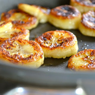 Fried Honey Banana.