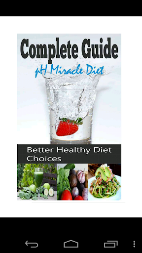 Complete Guide pH Miracle Diet