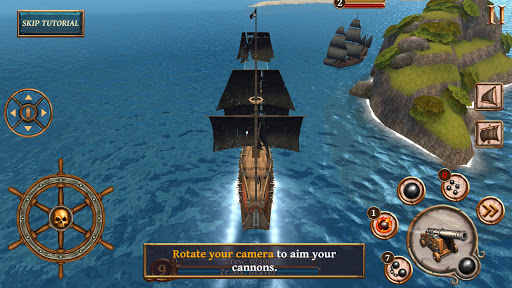 Ships of Battle - Age of Pirates - Warship Battle  screenshots 3