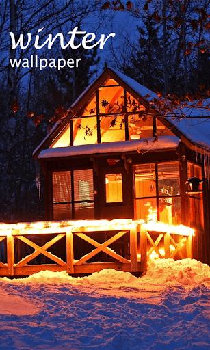 겨울 배경 화면