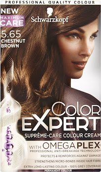 Schwarzkopf Color Expert Suprême-Care Hair Colour Cream - 5.65 Chestnut Brown