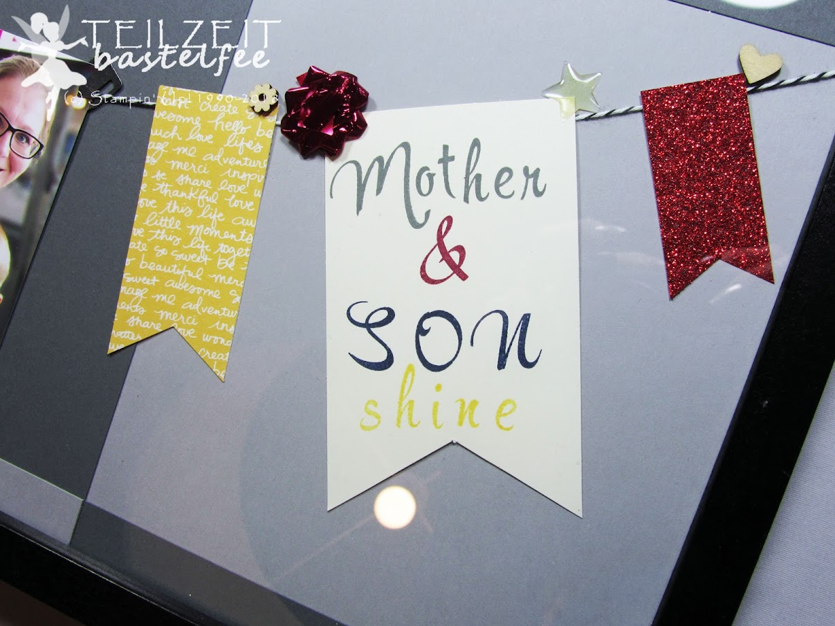 Stampin' Up! - Inkspire_me, Sketch Challenge, Banners, Bilderrahmen, photo frame
