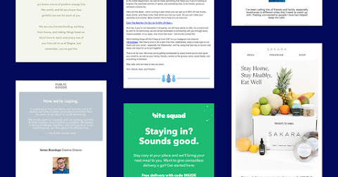 How 5 Retailers Are Responding to COVID-19: Ecommerce Brands That Are Delivering Comfort to Inboxes Cover Image