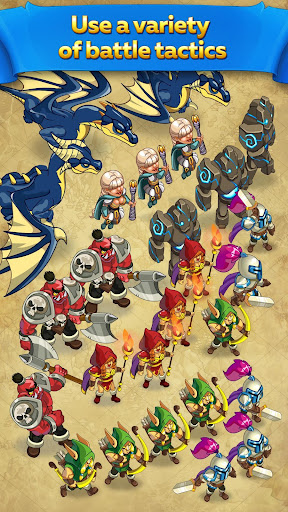 Might and Glory: Kingdom War  screenshots 3