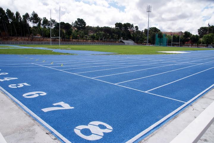 Resultado de imagen de pista atletismo ecef
