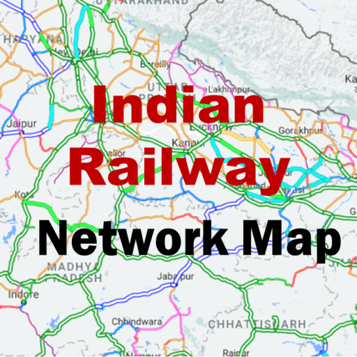 Indian Railway Network Map