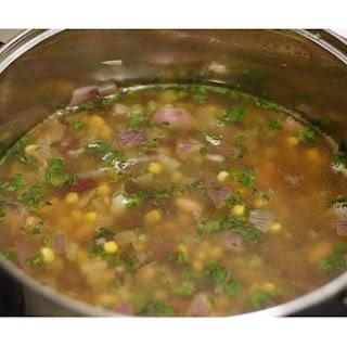 Mexican Bean Soup.